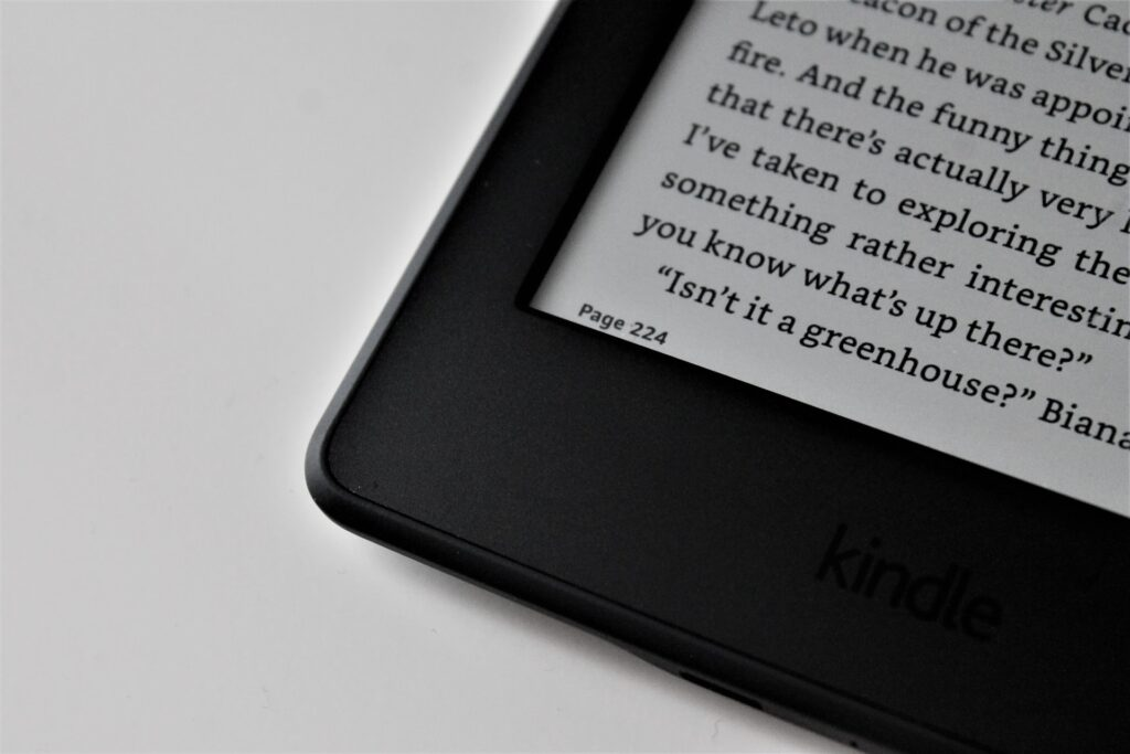Kindle - self-publish on Amazon