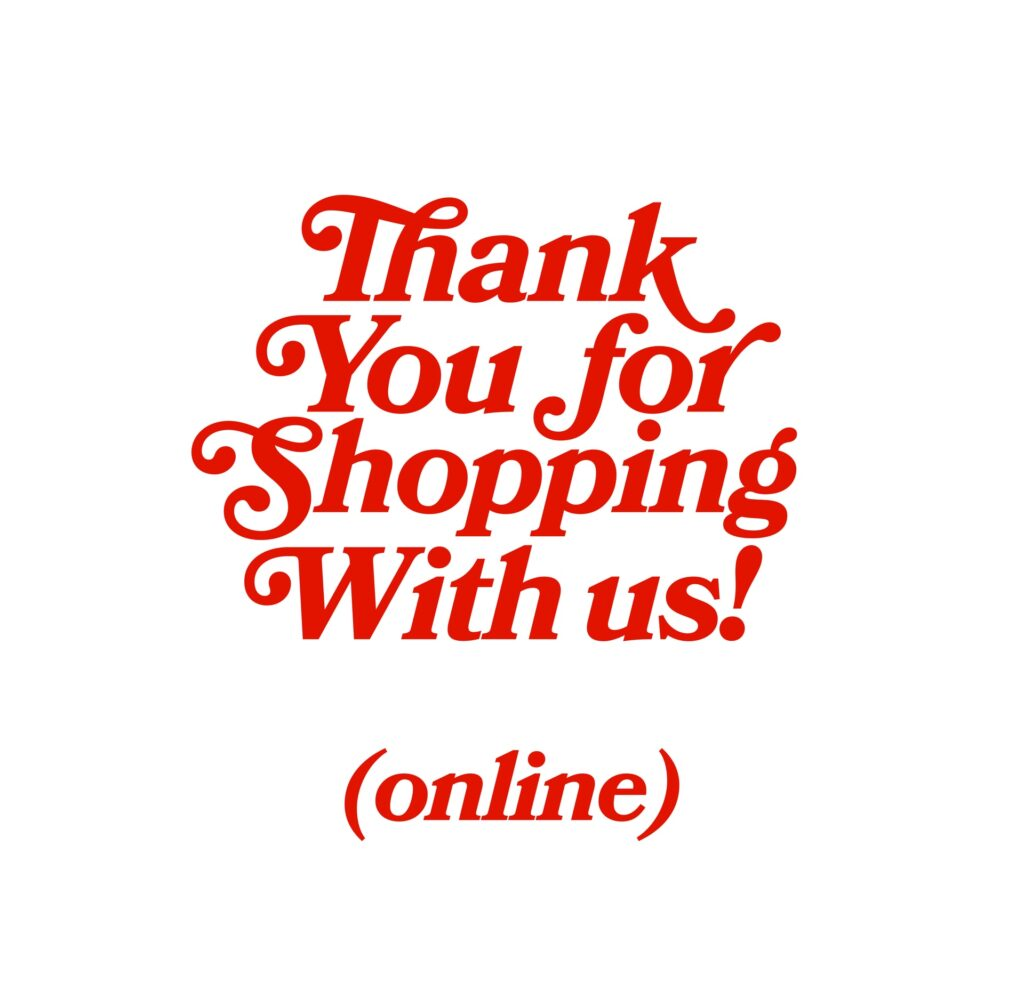Dropshipping thank you note included