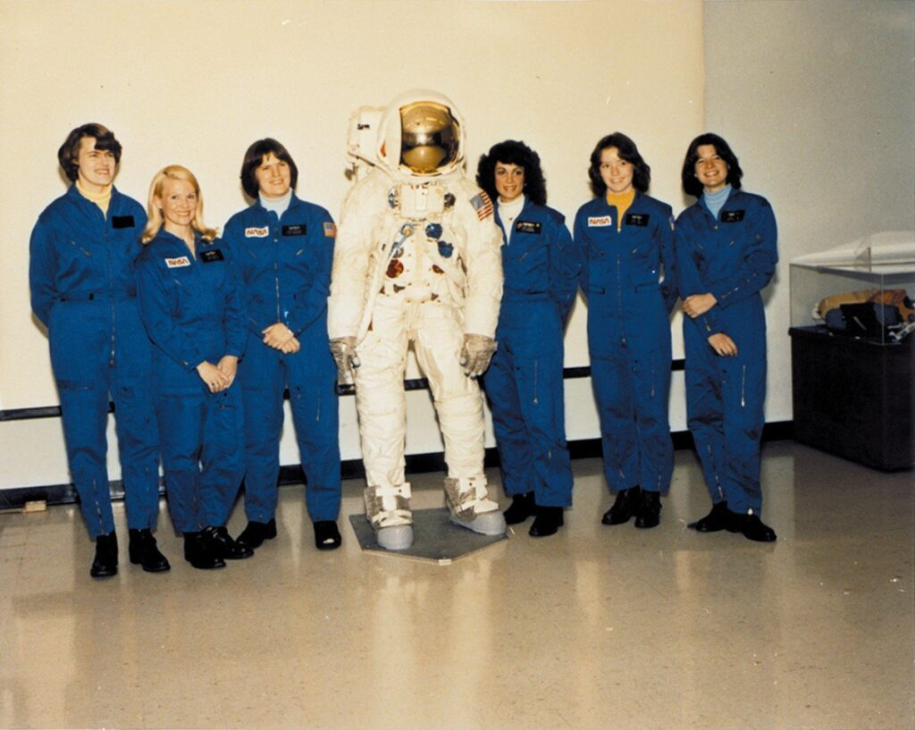 Female astronauts