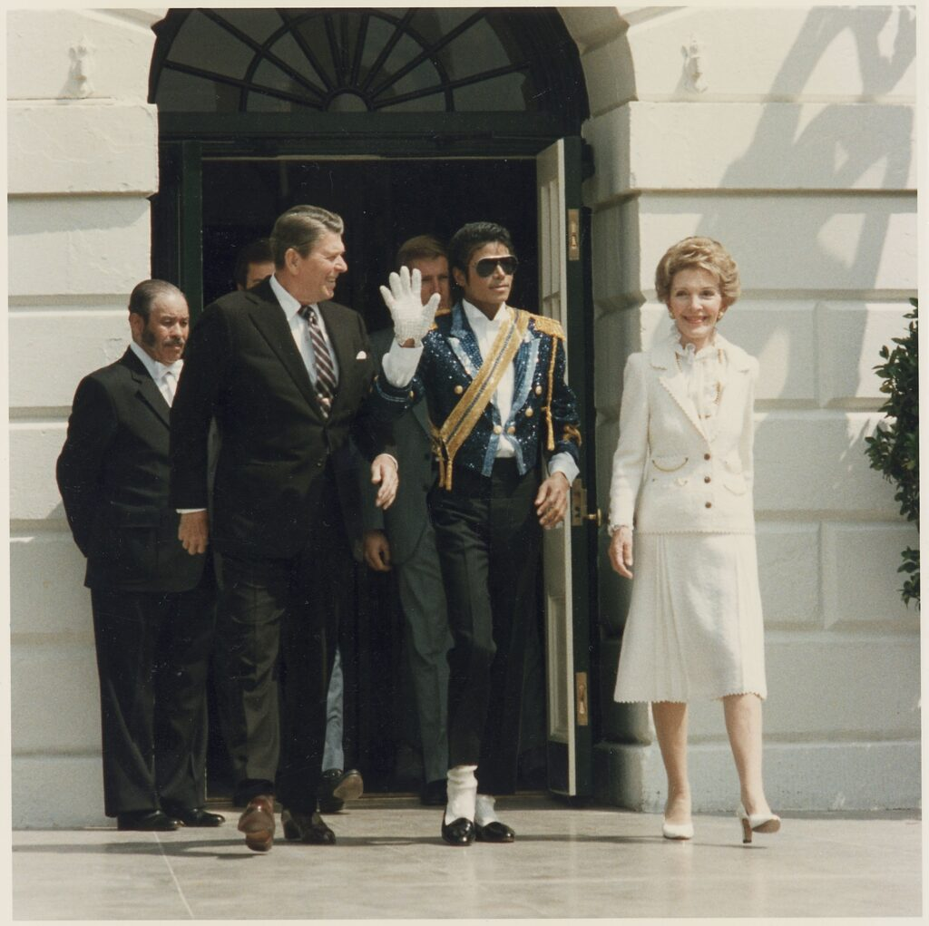 Reagans and Michael Jackson
