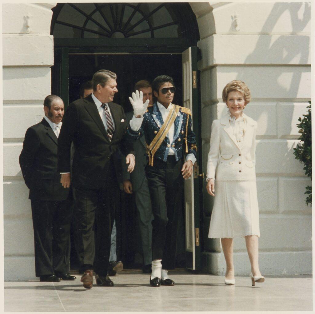Reagans and Michael Jackson