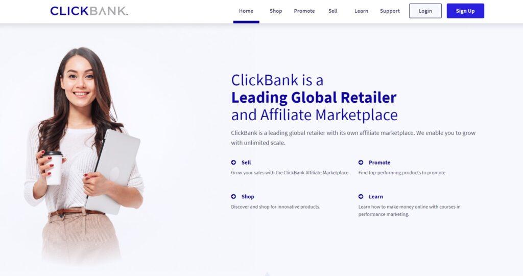 ClickBank Affiliate marketing program