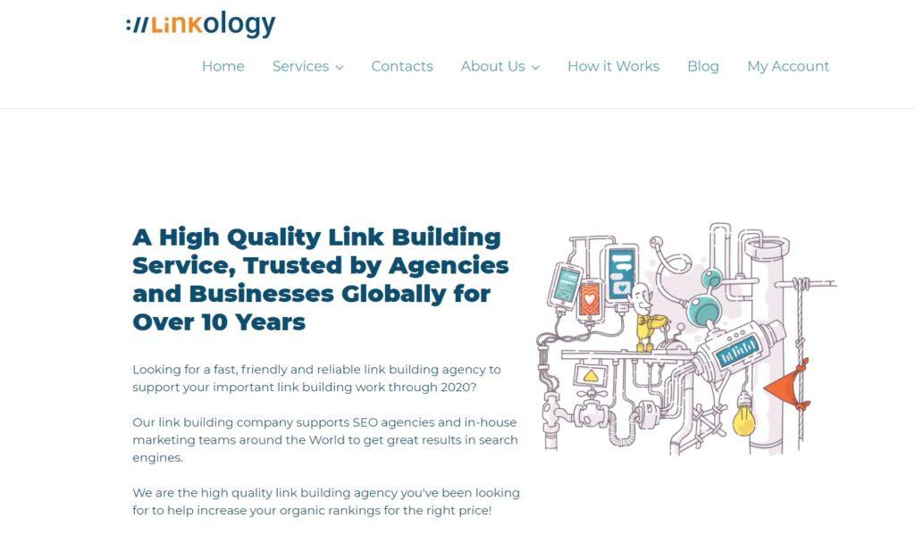 Linkology SEO link building service