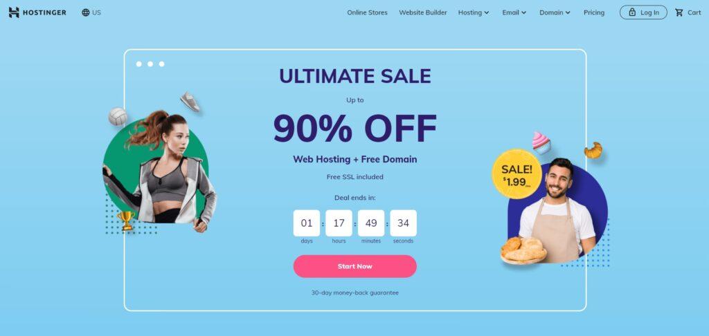 Hostinger - web hosting service