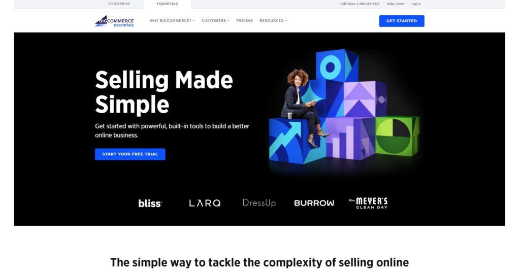 BigCommerce e-commerce platform