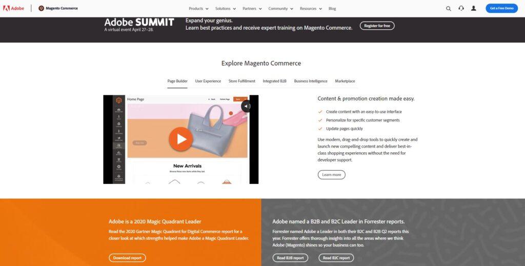 e-commerce platforms: magento
