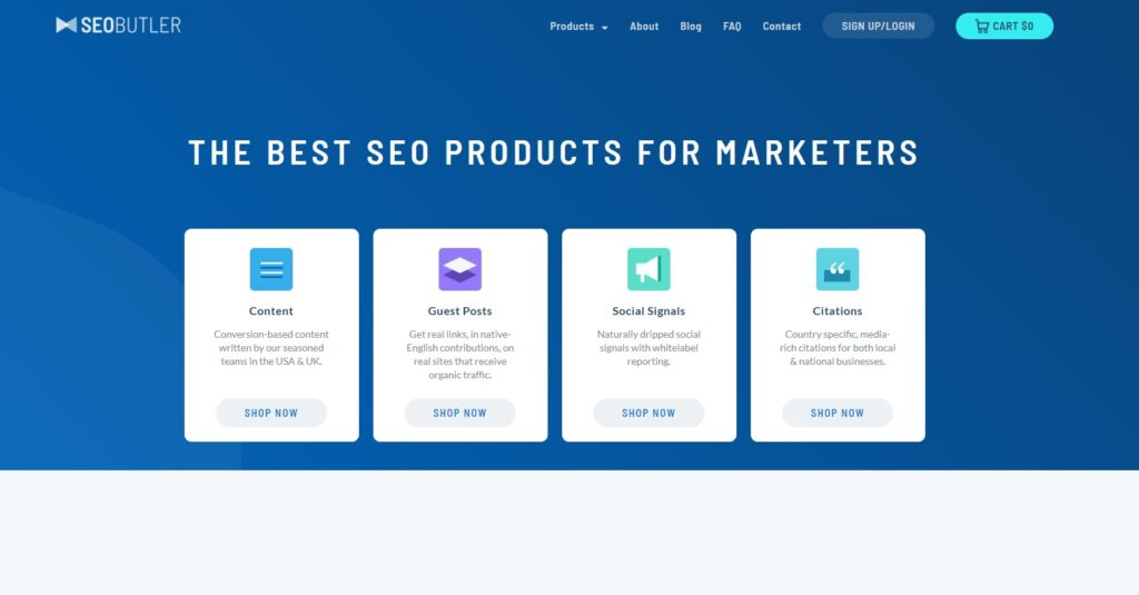 SEO Butler screenshot