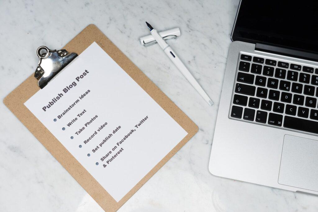 publish blog post list