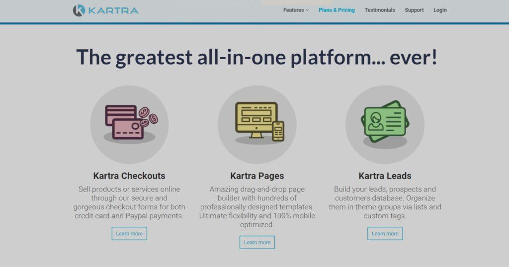 kartra online course platform