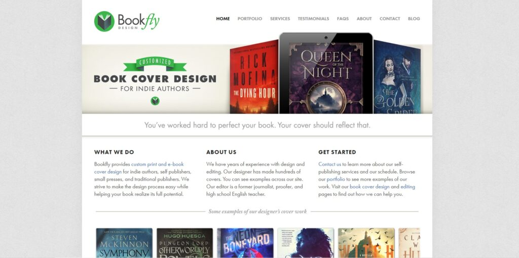 BookFly home page