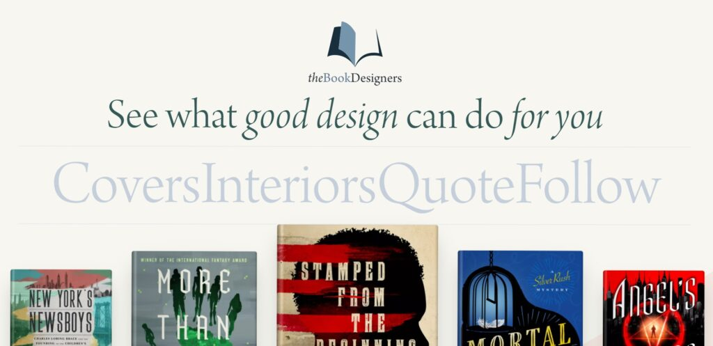 The Book Designers home page