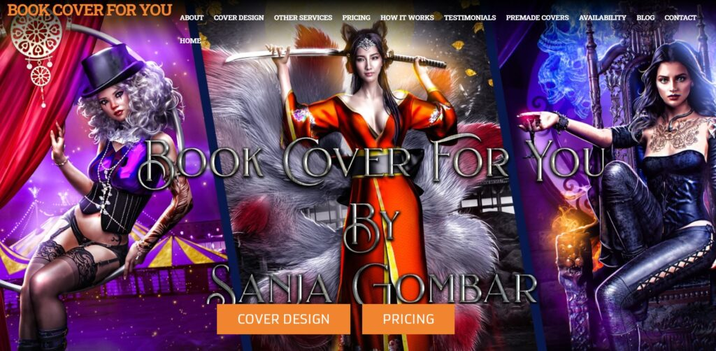 Book Cover For You home page