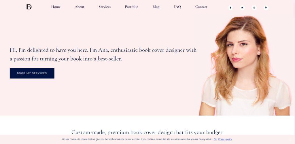 Books Design home page