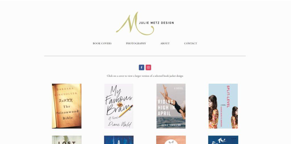 Julie Metz Design home page