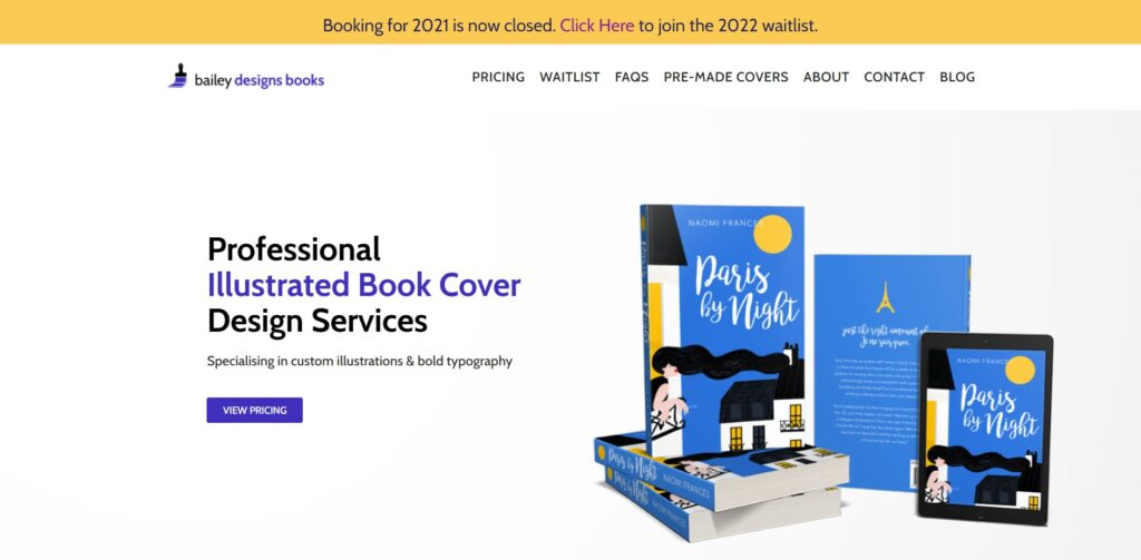 Bailey Designs Books home page