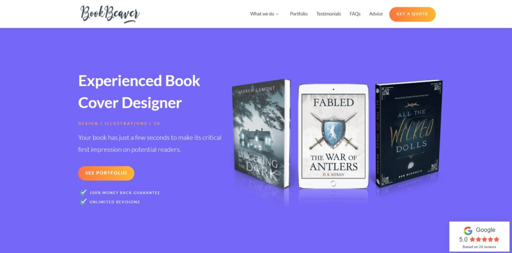 Book Beaver home page