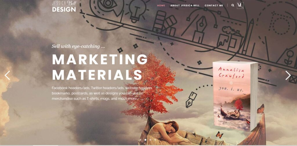 Jessica Bell Design home page