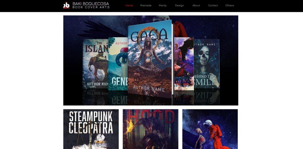 Baki Boquecosa home page